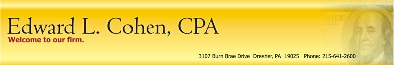 Edward L. Cohen, CPA Header